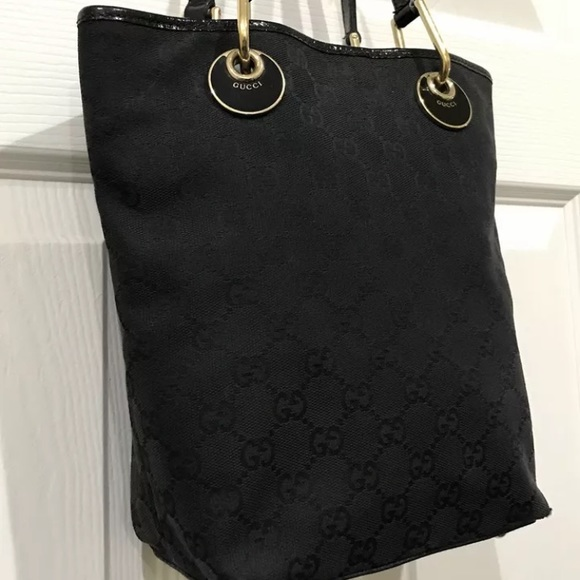 24d89c2ddc84f8 Gucci Handbags - 🖤 Authentic Gucci Vintage Black GG monogram purse